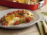Only thing missing from this recipe is the enchilada sauce. But, it still sounds delicious!