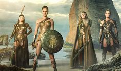 Wonder Woman Amazing FIRST LOOK at Gal Gadot and the Amazons