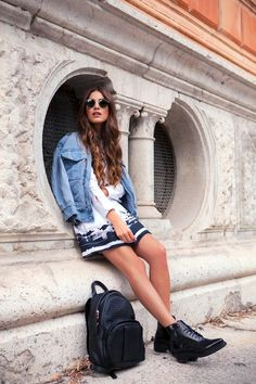 Milan Fashion Week - Fay S/S 15 — Negin Mirsalehi I'm not cutting my hair for a very long time...