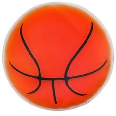Basketball shaped cold pack filled with cool soothing gel is a perfect health care promotion for hospitals, doctor's office, health fairs or sports teams or NBA! Provides cool relief.