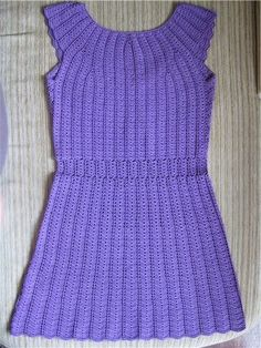 Crochet Patterns to Try: Crochet SummerTunic Dress Free Chart and Photo Instructions
