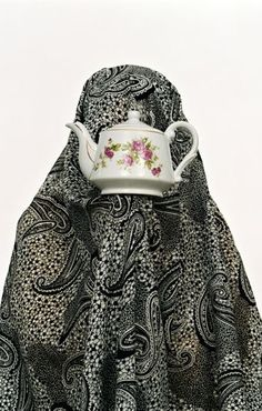 Shadi Ghadirian was one of the photographers featured in the recent Chobi Mela III. Iranian Art, International Festival, Feminist Art, Saatchi Online, Female Photographers, Muslim Women, Photography Women, Art Direction, Statues