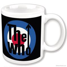 The Who Bullseye Logo Ceramic Mug  http://www.retroplanet.com/PROD/33800