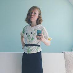Added by @leo.sperlinski Instagram post outfit of the day #backtotheroots #1930s #vintage #vintagepattern #sewing #mrsdepewvintage #backinthedays - instazu.com Instagram Story Viewers, 1930s, Outfit Of The Day, Leo, Sewing, Gallery, Instagram Posts, Inspiration, Outfits