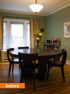 Julia's Before & After Photos: Final Results in the Dining Room — Liveblogging the Style Cure