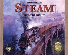 Martin Wallace's new train game will be published by Mayfair. The game is of the same family of rail games as Age of Steam and Railroad Tycoon, both previous games designed by Wallace. The game plays Board Game Online, Online Games, Auction Bid, Seven Wonders, Indoor Games, Game Design, The Expanse, Games To Play, Card Games