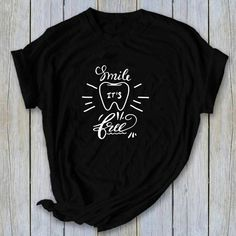Dental World, Dental Life, Dental Humor, Dental Hygienist, Dental Shirts, Dental Scrubs, Free Dental, Gifts For Dentist, Dental Procedures