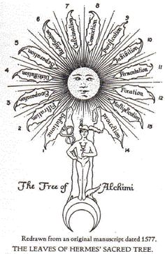 alchemical imagery « eye of the cyclone