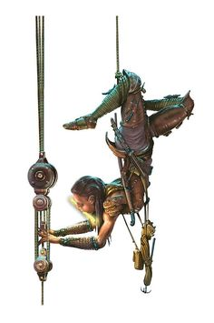 d&d pixie rogue - I can't imagine anyone holding that pose in a real life scenario, but it is a cool picture.