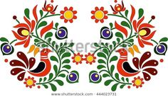 Hungarian Embroidery, Folk Embroidery, Learn Embroidery, Wedding Embroidery, Chain Stitch Embroidery, Embroidery Stitches, Embroidery Patterns, Bordado Popular, Stitch Head