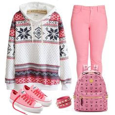 pink and tribal