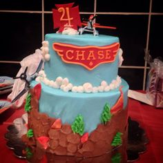 Planes Fire and Rescue Cake