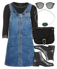 """Untitled #6107"" by rachellouisewilliamson on Polyvore featuring Topshop, John Lewis and Madewell"