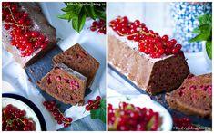 Kakaový chlebíček s červeným rybízem Pavlova, Krispie Treats, Rice Krispies, Strawberry, Fruit, Desserts, Recipes, Blog, Black