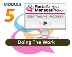 Social Media Manager Pro online training course outline and modules description.   Social Media Manager Pro
