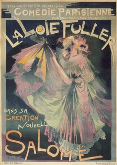 aleyma:  Georges Feure, Loie Fuller, 1895 (source).