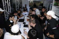 reunión de ingenieros y pilotos previa a la carrera (HRT F1 TEAM) , del GP de Mónaco, el domingo 27 de mayo de 2012 *** Local Caption *** RUBIO RV RACING PRESS