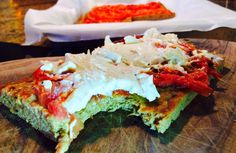 Food Fitness by Paige: Tomato Basil Protein Focaccia