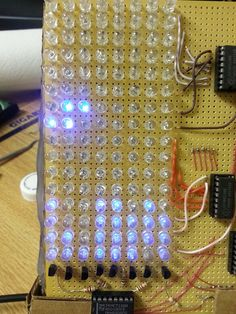 LED Matrix Tetris (class project)