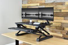 VIVO Deluxe Height Adjustable Tabletop Desk