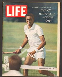 Life Magazine September 20 1968 The Icy Legacy of Arthur Ashe Tennis World Arthur Ashe, Life Magazine, Black Magazine, Jouer Au Tennis, Tennis Rules, Tennis Legends, Tennis World, Tennis Workout, Life Cover