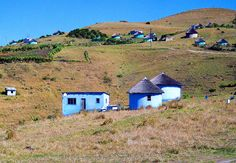 Transkei Huts near Coffee Bay, South Africa