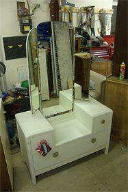 Vintage Furniture - nice Tall mirror