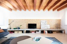 Italian architecture firm Studio Didoné Comacchio has recently refurbished a rural house in the Venetian countryside, built in the early and restored in the early Solid Oak Table, Sala Grande, Rural House, Wooden Staircases, Wooden Shelves, Contemporary Architecture, Design Projects, Design Ideas, Interior Design