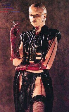 "Terri / Dreamer ""Paula Marshall"" Hellraiser III: Hell On Earth Paula Marshall, Fastest Roller Coaster, The Dreamers, Horror, Punk, Earth, Occult, Hooks, Blood"