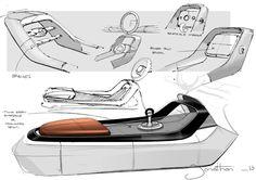 Interior design sketches, industrial design sketch, car interior sketch, ca Car Interior Sketch, Custom Car Interior, Car Interior Design, Interior Design Sketches, Industrial Design Sketch, Car Design Sketch, Interior Rendering, Interior Concept, Car Sketch