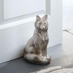 Franklin the Fox Doorstop   West Elm