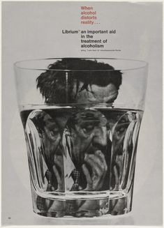 Rolf P. Harder When alcohol distorts reality, 1963 jpg Graphic Design Poster Design Poster, Design Art, Graphic Design Illustration, Graphic Art, Temple Of Light, You Draw, Art Graphique, Visual Communication, Graphic Design Inspiration