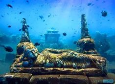 temple sous marin bali
