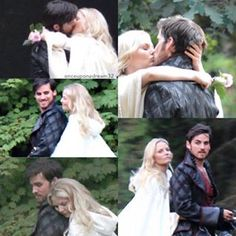 Colin O'Donoghue - Killian Jones - Captain Hook - Emma Swan - Jennifer Morrison - Once Upon A Time 5x4