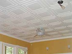 Low basement ceiling alternative to dropped ceilings systems - Ceiling link