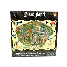 Disneyland Theme Park Map 1000 Piece Jigsaw Puzzle