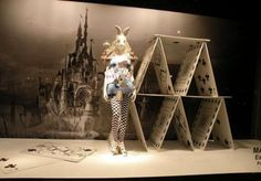 PRINTEMPS PARIS ALICE IN WONDERLAND STORE WINDOWS SALUTE FASHION AND WHIMSY..