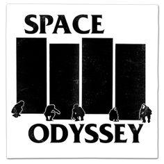 Vinyl Album & Movie Mash Up Parodies. Prints, T Shirts, Commissions & more. Vinyl Record Art, Vinyl Art, Vinyl Records, Vinyl Cover, Cover Art, Black Flag Logo, 2001 A Space Odyssey, Cord Cover, Music Lovers