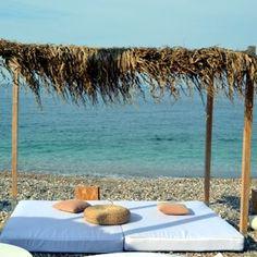 Yosonas beach. Chios island, Greece.  - Selected by www.oiamansion.com