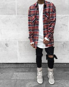 Check Mate. Flannel by @fearofgod Jeans by @pageslondon by blvckmvnivc