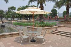 Patio aluminium sun umbrella ,outdoor beach umbrella #Affiliate