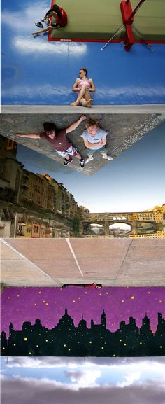 Optical illusions/ forced perspective