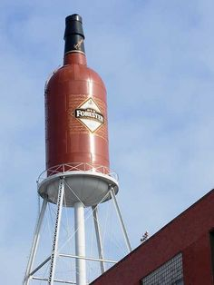 guess I'll have to go see this one . . . Old Forester Bourbon Water Tower, Louisville Kentucky
