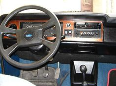 Ford Taunus 1978 interior
