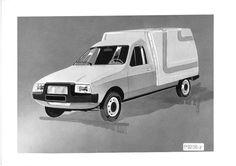 OG   1984 Citroën C15  Design sketch