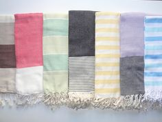Turkish Towels Pestemals Turkish Towels, Bed Spreads, Beach Towel, Picnic Blanket, Hand Weaving, Quilts, Patterns, Home, Athens Greece