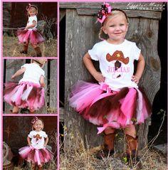 Cowgirl Birthday Outfit | cowgirl birthday tutu outfit giddy up this adorable cowgirl birthday ...