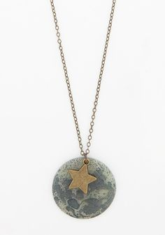 Celestial Bliss Necklace, #ModCloth