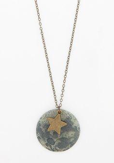 Celestial Bliss Necklace, #ModCloth