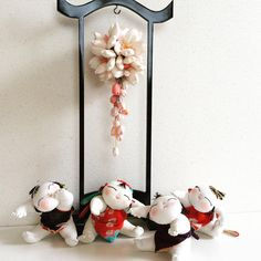 Japanese Flowers, Japanese Art, Japan Crafts, Chinese New Year, Little Things, Fabric Flowers, Washi, Art Dolls, 3d Printing